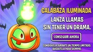getlinkyoutube.com-Plants vs zombies 2, CALABAZA ILUMINADA