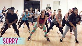 getlinkyoutube.com-Justin Bieber - Sorry (Dance Fitness with Jessica)