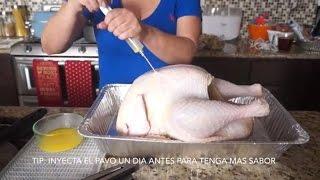 getlinkyoutube.com-Vlog Receta *PAVO AL HORNO Y FRITO* *thanksgiving*
