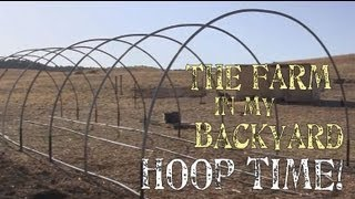 getlinkyoutube.com-How To Install Hoops For A Greenhouse