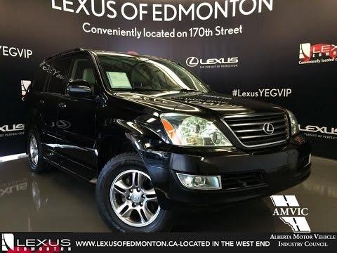 Used 2009 Black Lexus GX 470 4WD Ultra Premium In Depth Review   Lloydminster Alberta