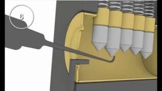 Aprire porta senza chiavi - Tutorial, grimaldello e tensore - semplicissimo -  no pick gun