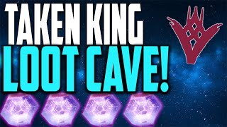 "getlinkyoutube.com-The Taken King: ""LOOT CAVE"" Taken King INSTANT SPAWN Unlimited Legendary Engrams Loot Cave"