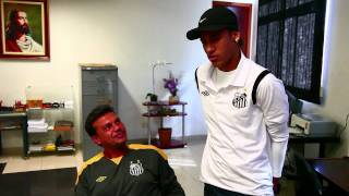 getlinkyoutube.com-Neymar visita time sub-15