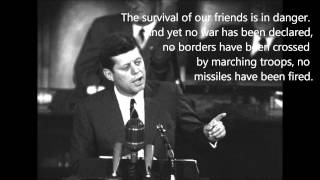 Full JFK Speech on Freedom of the press and the notion of secrecy