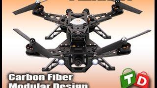 Walkera Runner 250 RTF FPV Quadcopter Devo7 Review From TinyDeal