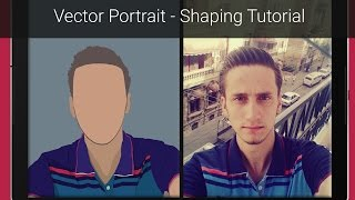 getlinkyoutube.com-Vector Portrait - Shaping Tutorial - Photoshop - The Easy Way