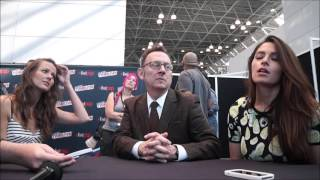 getlinkyoutube.com-Michael Emerson, Amy Acker, Sarah Shahi NYCC 2015 Person Of Interest