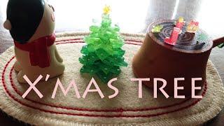 getlinkyoutube.com-プラ板で「 クリスマスツリー」の作り方    Shrink Plastic
