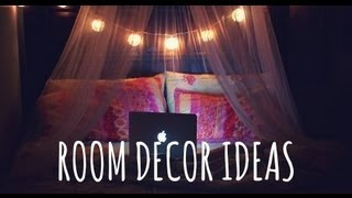 getlinkyoutube.com-♡ DIY ROOM DECOR IDEAS. Lighting + Wall art! ♡