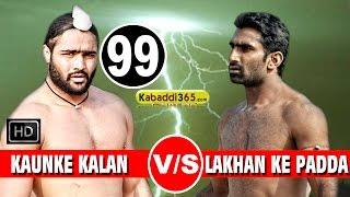 getlinkyoutube.com-Kaunke Kalan Vs Lakhan Ke Padda 2nd Semifinal Match in Raikot (Ludhiana) By Kabaddi365.com