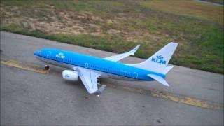 getlinkyoutube.com-Windrider KLM BOEING 737 - How It's Made & Maiden Flight