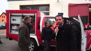 getlinkyoutube.com-Theißen bekommt ein neues Feuerwehrauto - Vorrausrüstwagen VRW