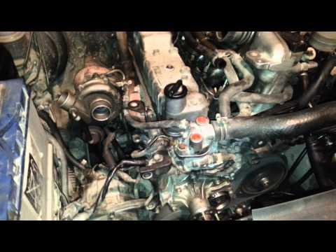 Пробный запуск мотора 4JG2-Т