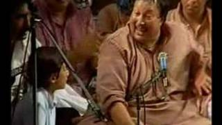nusrat fateh ali khan and rahat width=