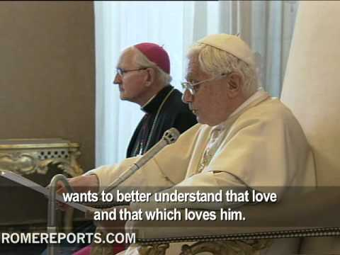Pope explains relationship between faith and reason to International Theological Commission