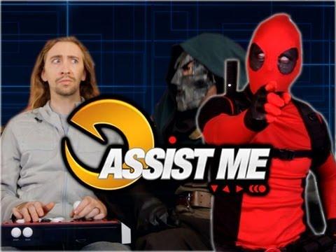 'ASSIST ME!' Featuring Deadpool: Part 1 (Ultimate Marvel vs Capcom 3 Tutorial/Parody)