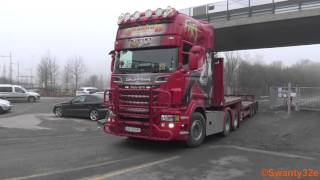 getlinkyoutube.com-4K| 2x Scania R620 V8 Sound & Scania R730
