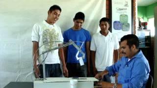 getlinkyoutube.com-Cecyted El Vergel, Brazo Hidráulico. Prototipo