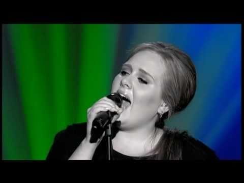 Adele - Natural woman (live)  - видео клип към песента