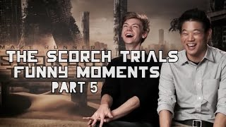 getlinkyoutube.com-The Scorch Trials Funny Moments Part 5
