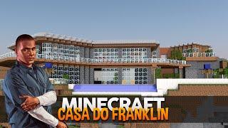 getlinkyoutube.com-Minecraft Mapas: Casa Moderna do Franklin (GTA V)