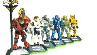 getlinkyoutube.com-Mega Construx - Halo Heroes Series 3 Review