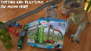 getlinkyoutube.com-Thomas & Friends Trackmaster: Old Vs New Trackmaster Trains on Gordon's Hill