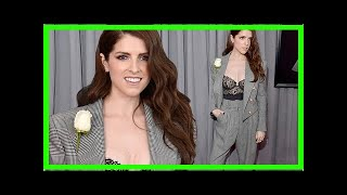 [Breaking News]Anna Kendrick sizzles in Balmain at the Grammys