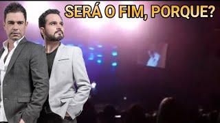 Zezé di camargo e Luciano briga no palco em curitiba e agora? view on youtube.com tube online.