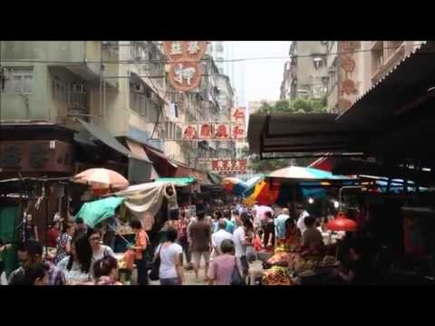 Temple Street Market & Hong Kong Red Light District
