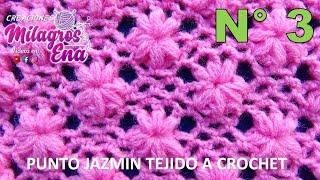getlinkyoutube.com-Punto tejido a crochet # 3 para colchitas de bebe - points crocheted