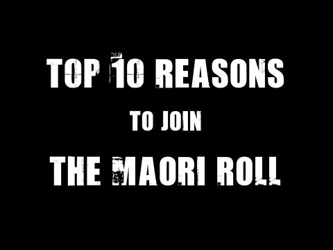RealRevTalk: Top 10 Reasons to Join Maori Roll