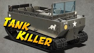 getlinkyoutube.com-FAIL MONTAGE - M-29 Weasel Tank Killer (Heroes and Generals Funny Moments)