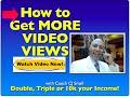 HOW TO GET MORE VIDEO VIEWS training-Coach CJ