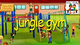 getlinkyoutube.com-Milly Molly | Jungle Gym | S1E23