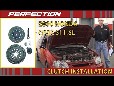 2000 Honda Civic Si 1.6L Clutch Install