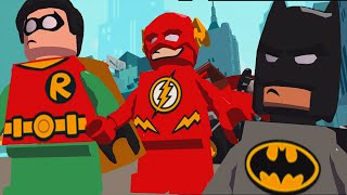 getlinkyoutube.com-SuperHero Batman Vs Captain Cold Vs Robin™ VsThe Flash | LEGO DC Super Heroes Mighty Micros