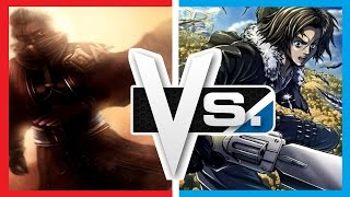getlinkyoutube.com-Versus Series | Auron Vs. Squall Leonhart