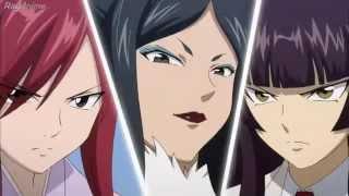 getlinkyoutube.com-Fairy Tail: Erza X kagura X Minerva (sub en español completo)
