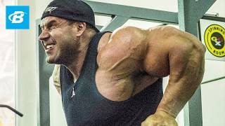 getlinkyoutube.com-Jay Cutler Workout: How Jay Cutler Trains Chest And Calves - Bodybuilding.com