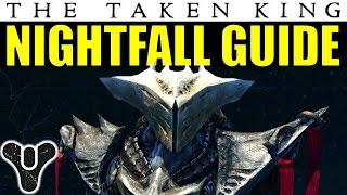 getlinkyoutube.com-Destiny Nightfall Guide: The Sunless Cell | The Taken King Week 1 Nightfall Walkthrough