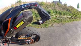 getlinkyoutube.com-KTM 690 SMC Akrapovic Soundcheck no DB-Killer