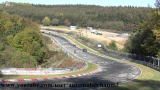 Biker accident on the Nordschleife