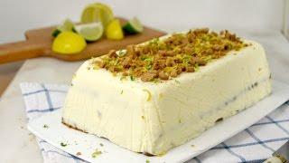 getlinkyoutube.com-Tarta fría de leche condensada, limón y galletas ¡Sin horno ni gelatina!