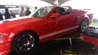 Shelby GT5000 vs Dinamómetro de potencia