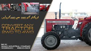 getlinkyoutube.com-Tractor Conversion from 2WD to 4WD by Javaid Industrial Company (www.jic.com.pk)