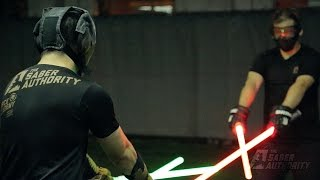 getlinkyoutube.com-Learn the art of swordsmanship with lightsabers in Singapore (by The Saber Authority)