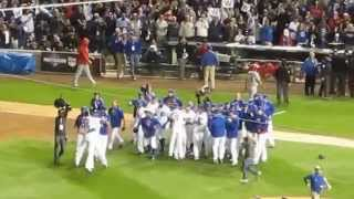 getlinkyoutube.com-CUBS WIN the NLDS!!! Game 4 vs the Cardnials - Oct 13, 2015
