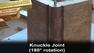 getlinkyoutube.com-Make a Knuckle Joint in Wood